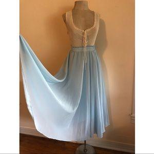 VNTG Baby Blue Skirt